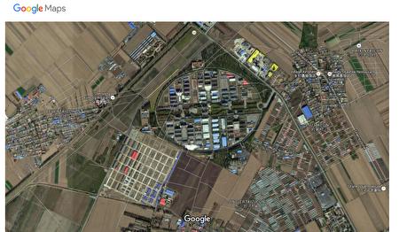 瀋陽監獄城。(谷歌地圖)
