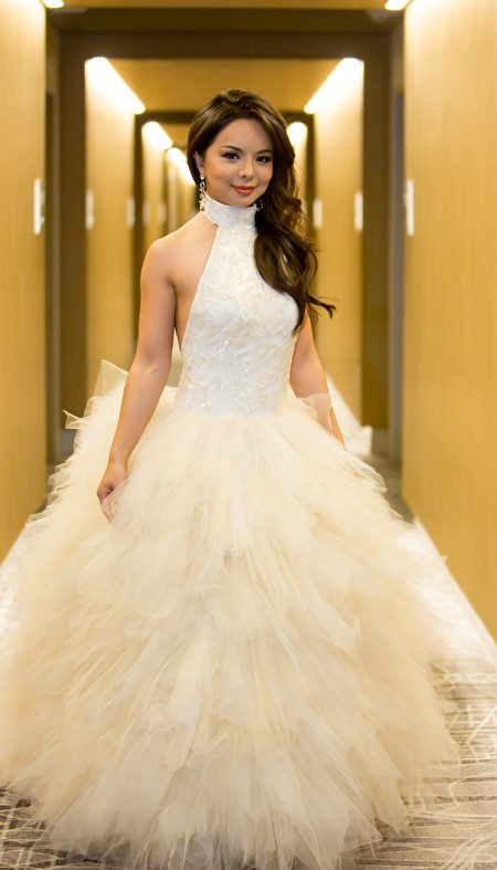 加拿大世界小姐林耶凡集美麗、智慧、善良和勇氣於一身,完美詮釋世界小姐組織的宗旨——「使命之美」,成為人們心中真正的世界小姐。(李莎/大紀元)