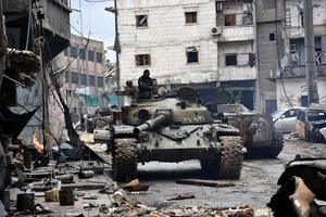政府軍將攻陷阿勒頗 敘利亞和平希望再破滅