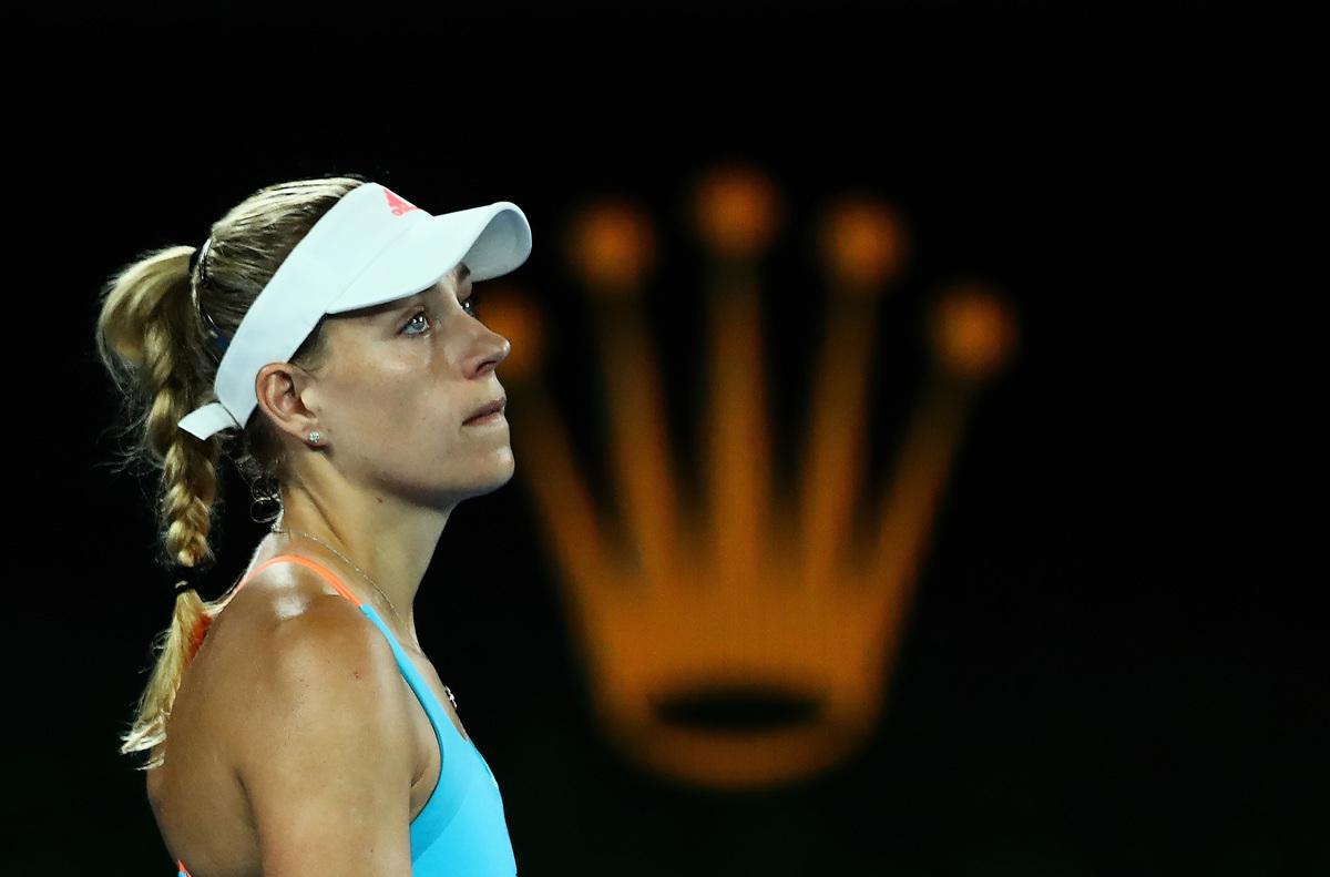 世界第一、衛冕冠軍姬芭無緣澳洲女單八強。 (Clive Brunskill/Getty Images)