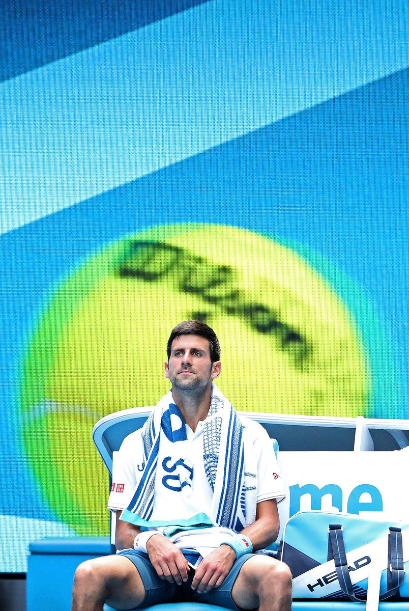 第二輪被淘汰,衛冕冠軍祖高域創造11年來個人在澳網的最差戰績。 (Scott Barbour/Getty Images)