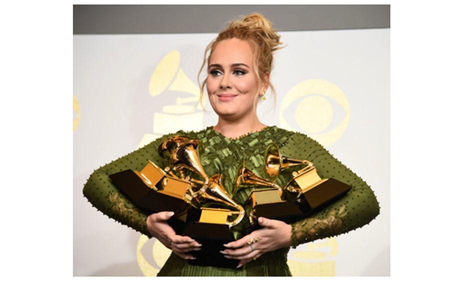 第59屆格林美獎 Adele奪5大獎