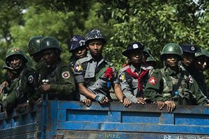 美敦促緬甸斷絕與北韓軍事關係
