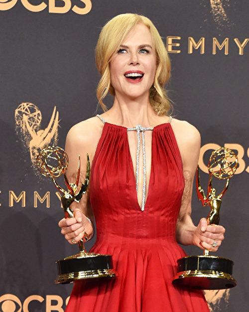 妮歌潔曼(Nicole Kidman)。(Alberto E. Rodriguez/Getty Images)