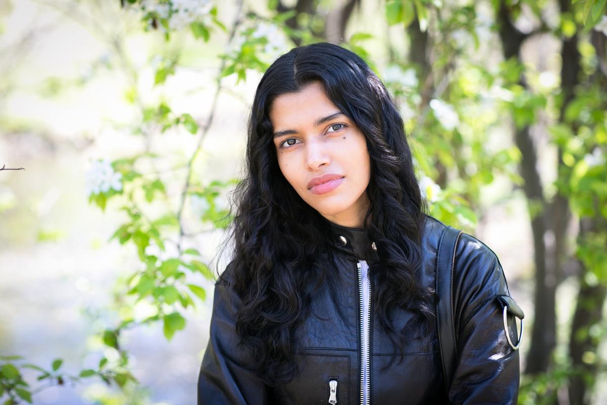 Pooja Mor於紐約中央公園。(Samira Bouaou / Epoch Times)