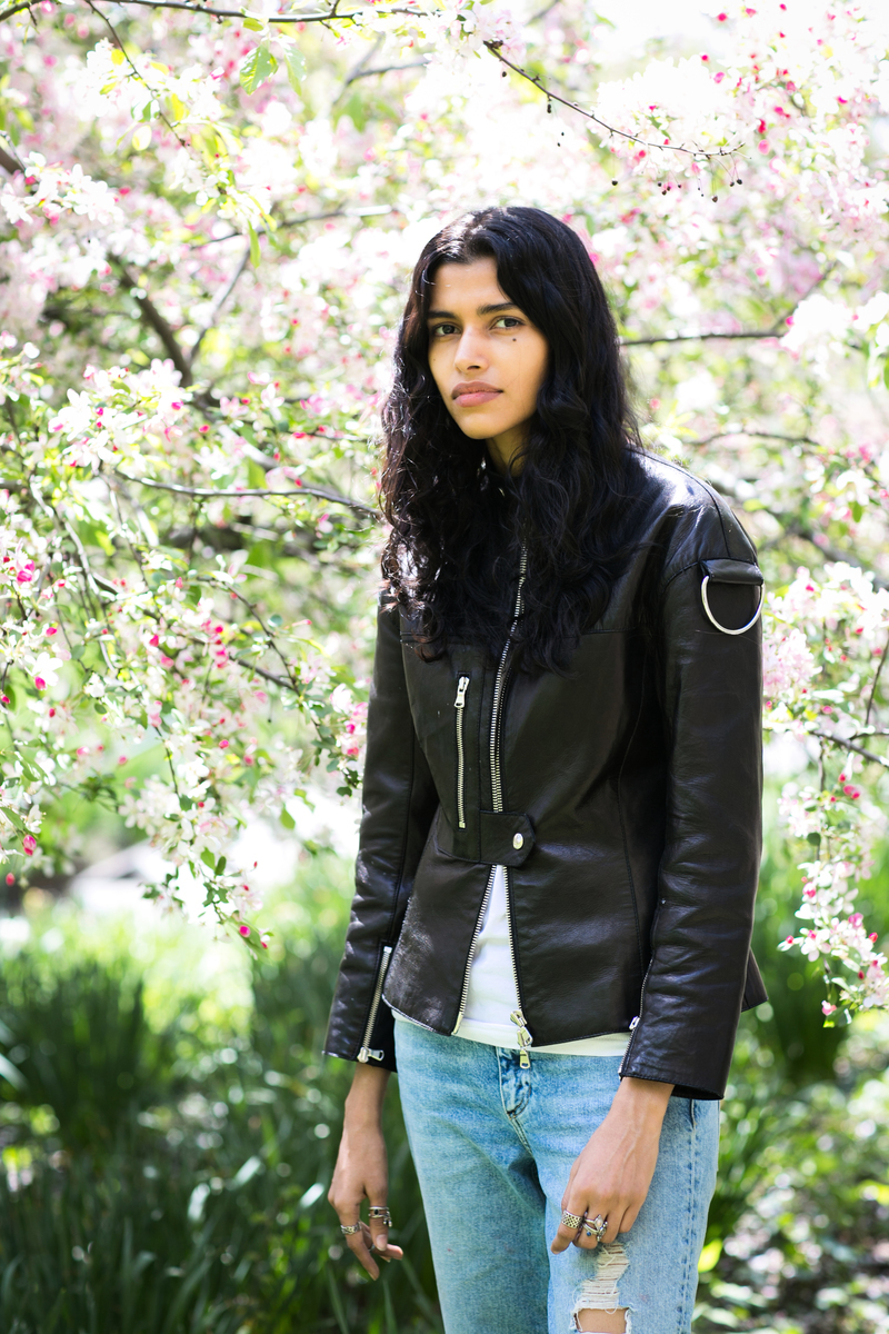 Pooja Mor 於中央公園。(Samira Bouaou/Epoch Times)