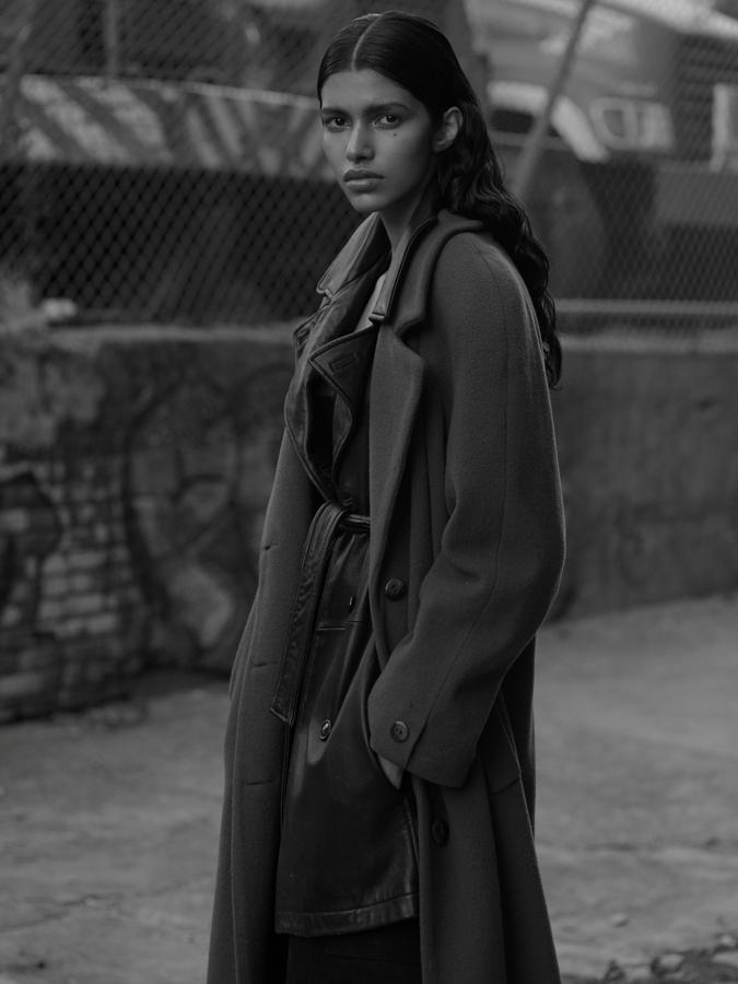 定居紐約的印度裔名模Pooja Mor。(Ace Amir)