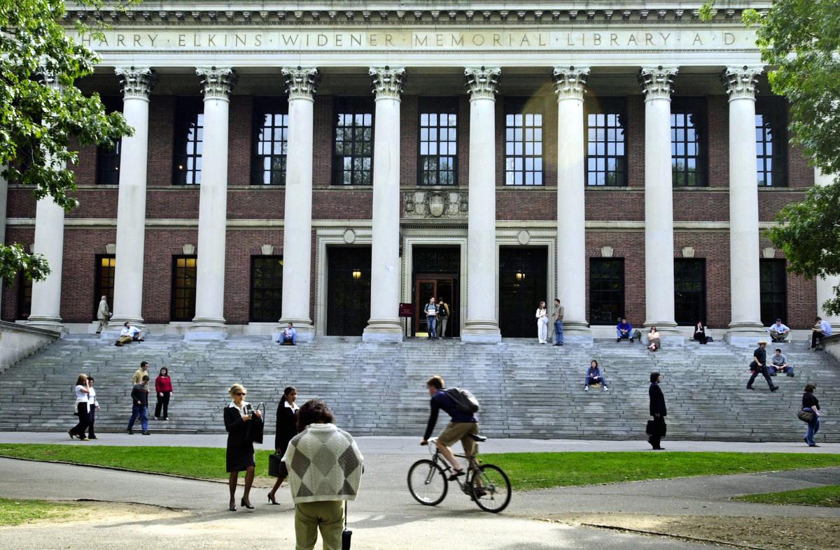 哈佛大學 。(William B. Plowman/Getty Images)