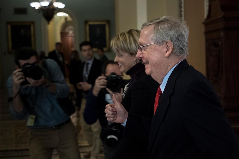 美參議院通過特朗普的稅務改革法案