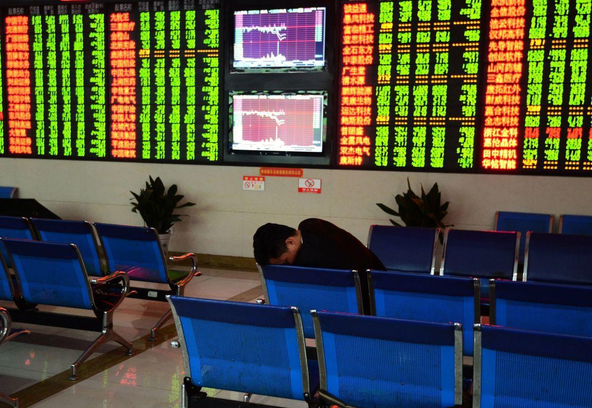 美國政府9月10日宣佈將再對2,000億美元的中國商品加徵10%關稅後,中國大陸三大股指應聲大跌。圖為資料圖。(AFP/Getty Images)