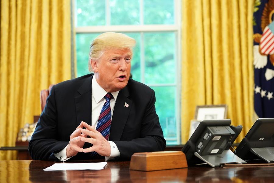 特朗普:現在不是和中方談判的正確時機
