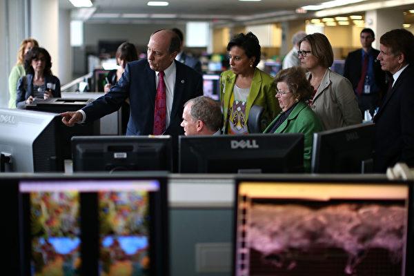 美國國家氣象服務中心。