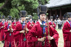 南韓首爾「秋期釋奠」祭孔大典