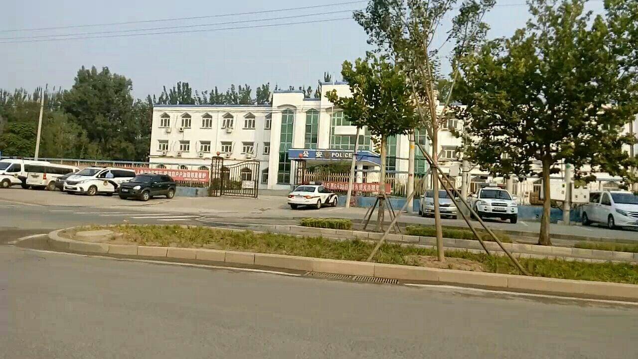 2018年9月12日,北京市朝陽區法院溫榆河法庭因孫茜案,將正門關閉。(知情者提供)