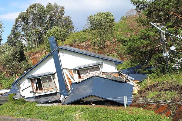 日本氣象廳表示,地震發生在當地時間凌晨3點08分(格林威治標準時間週三下午18:08),震級為6.7。(JIJI PRESS/AFP/Getty Images)