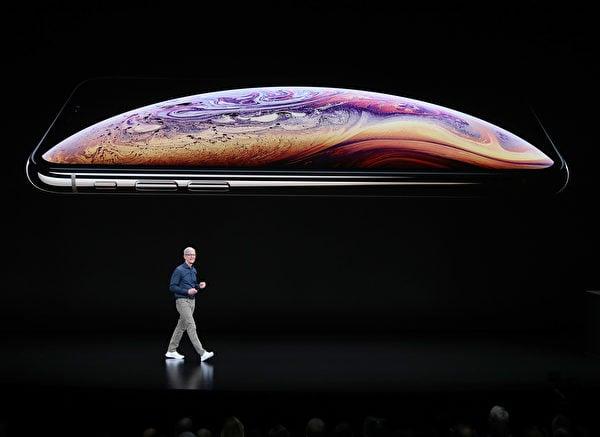 iPhone Xs重拾面部ID功能。(Justin Sullivan/Getty Images)