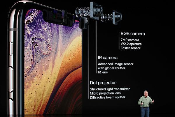 iPhone Xs配備了一種新的處理器,可實現更快性能,且擁有高達512 GB的存儲空間。(Justin Sullivan/Getty Images)