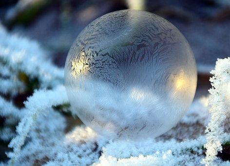結霜了!(pixabay)