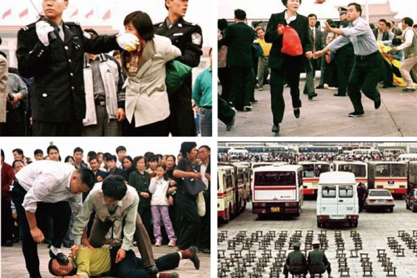中共自1999年7月20日開始,迫害法輪功修煉群體,製造人權巨難。(大紀元合成圖)