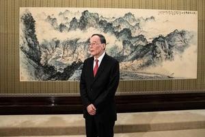 王岐山稱北京準備與美國商討貿易問題