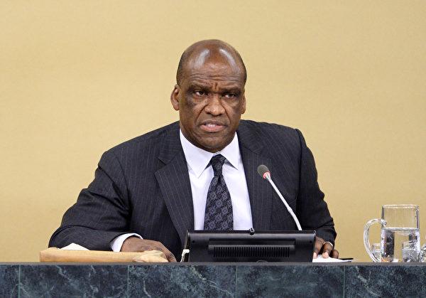 第68屆聯合國大會主席阿什(John Ashe)。(STAN HONDA/AFP/Getty Images)