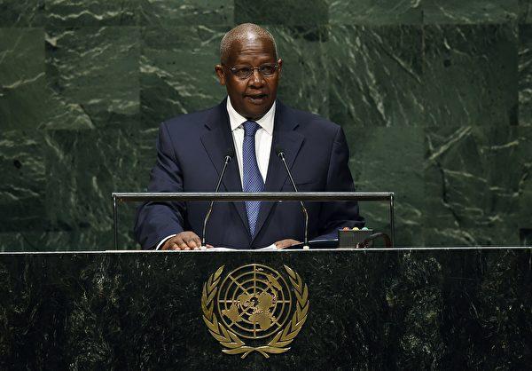 第69屆聯合國大會主席庫泰薩。(JEWEL SAMAD/AFP/Getty Images)