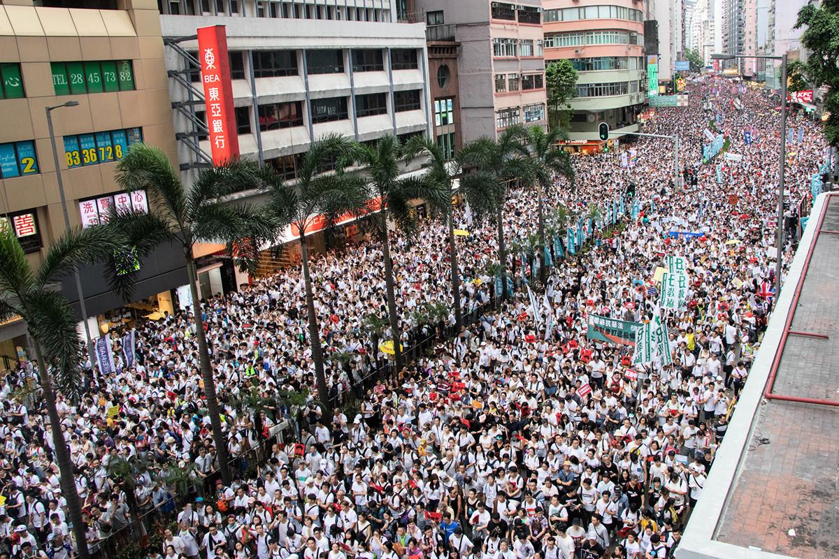 6月10日,《華爾街日報》的專欄作家威廉姆·麥古恩(William McGurn)撰文說,中共的最大噩夢是香港人們有一天意識到,獲得自由的唯一途徑就是推翻中共的統治 。(蔡雯文/大紀元)