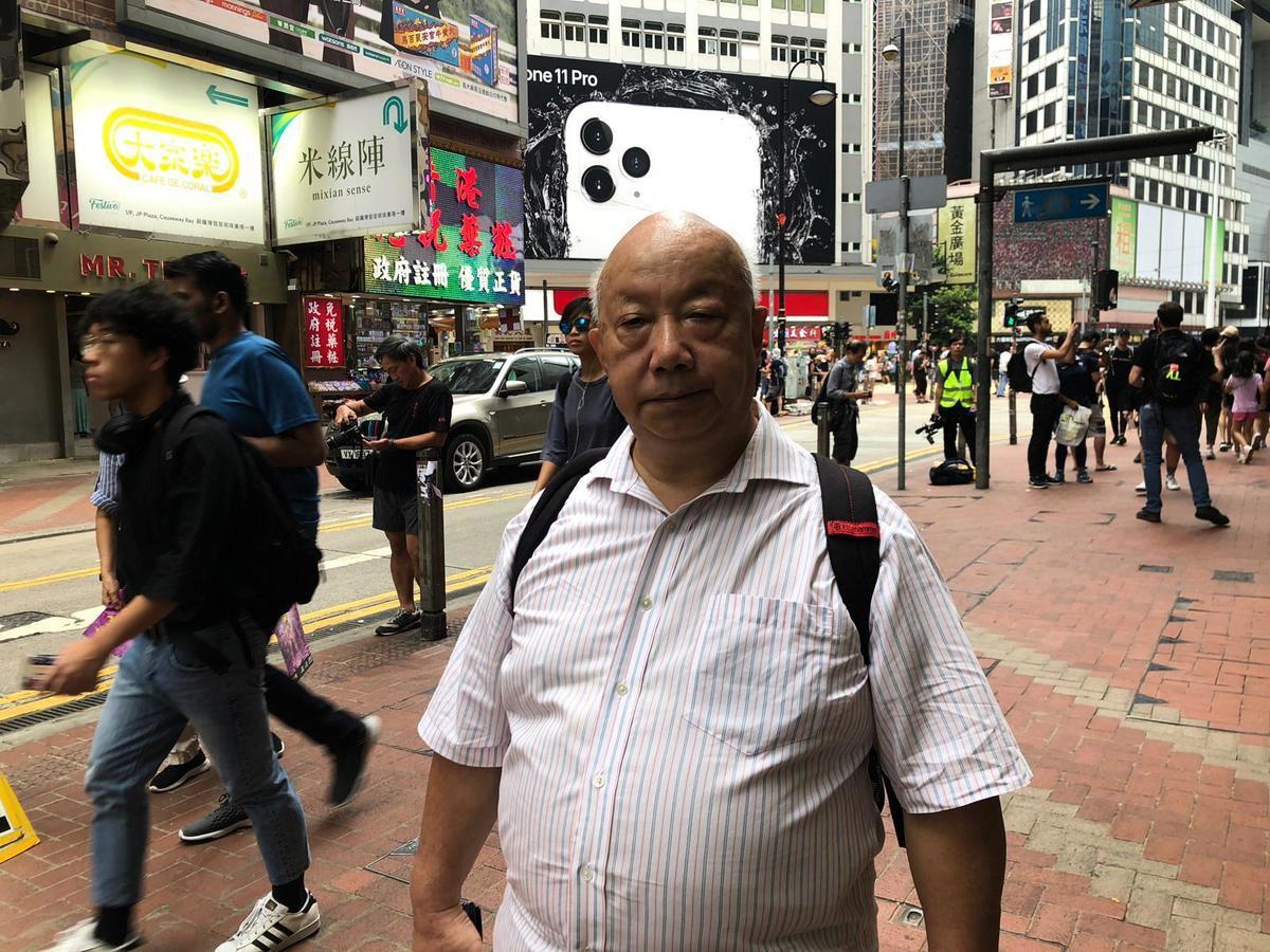 香港人權監察總幹事羅沃啟。(梁珍/大紀元)