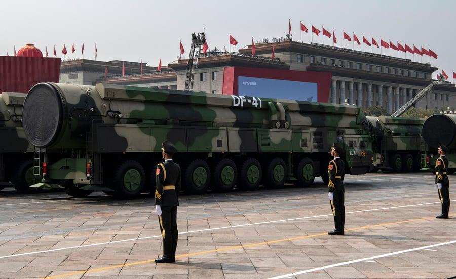 美國專業報告揭秘中共核武器家底