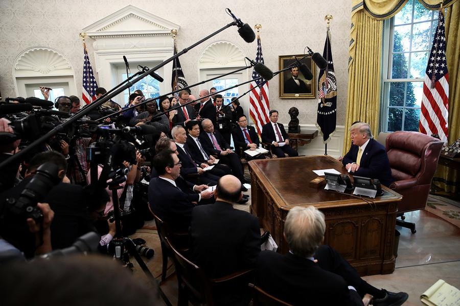 特朗普:10月15日不上調關稅 12月關稅未定