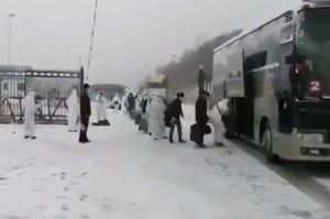 在俄華人返國確診數翻番 黑龍江趕建方艙醫院