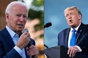 美國大選首場辯論 特朗普強攻 拜登穩守