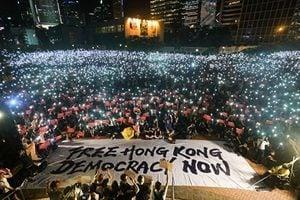 香港「反送中」成中共造假新聞的「照妖鏡」