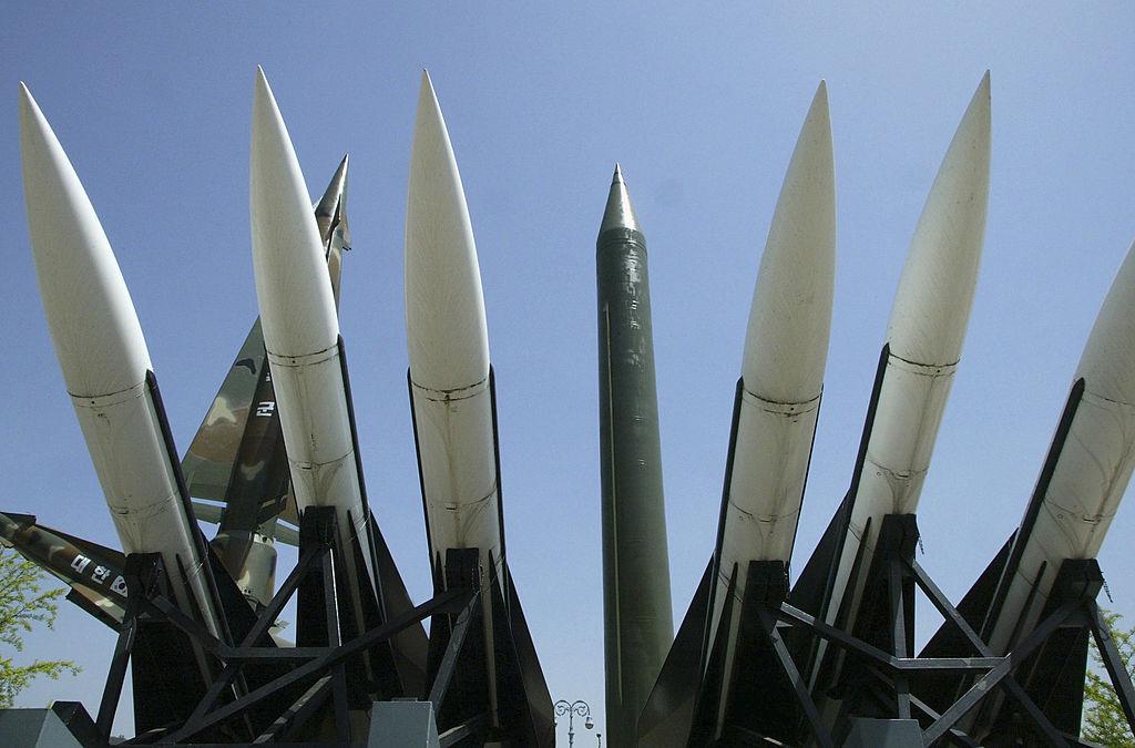 圖為導彈武器。(Chung Sung-Jun/Getty Images)