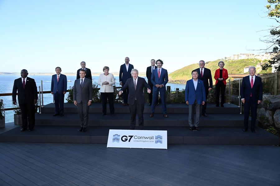 鍾原:中共降級回應G7聲明 戰狼頹喪