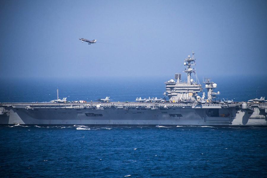 美軍組建F-35C小分隊 擬往返五千英里空襲