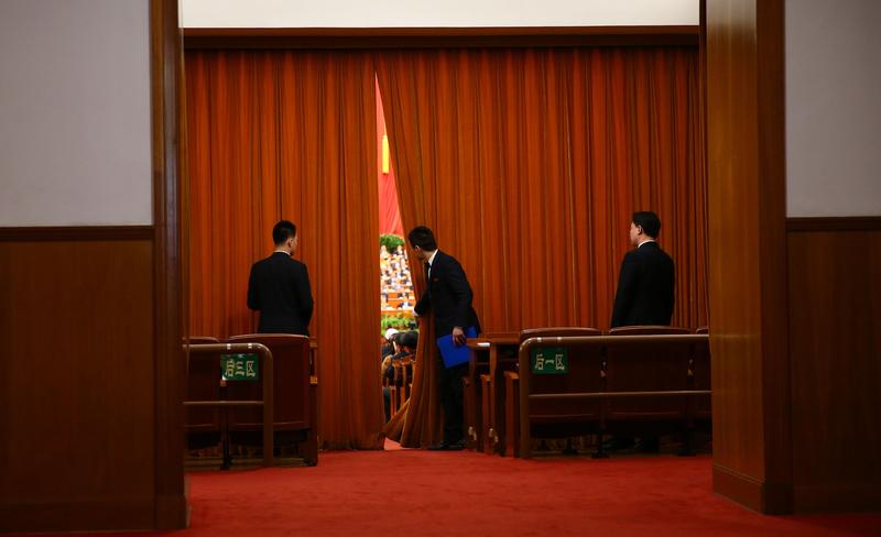 中共兩會將在疫情仍未得到控制的情況下召開,中共當局嚴防兩會代表「帶毒」進京。圖為2015年3月兩會。(大紀元資料室)