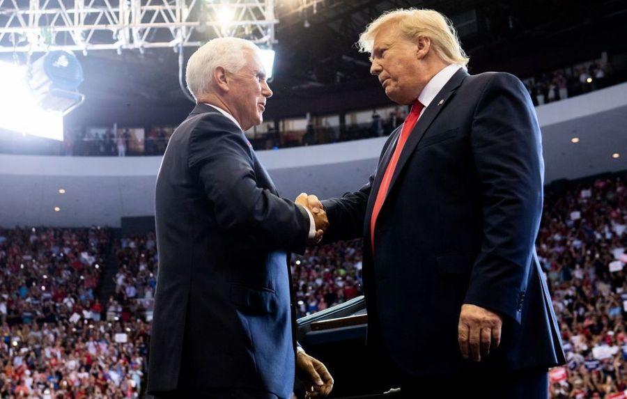 2020美國大選 特朗普確認彭斯是競選搭檔