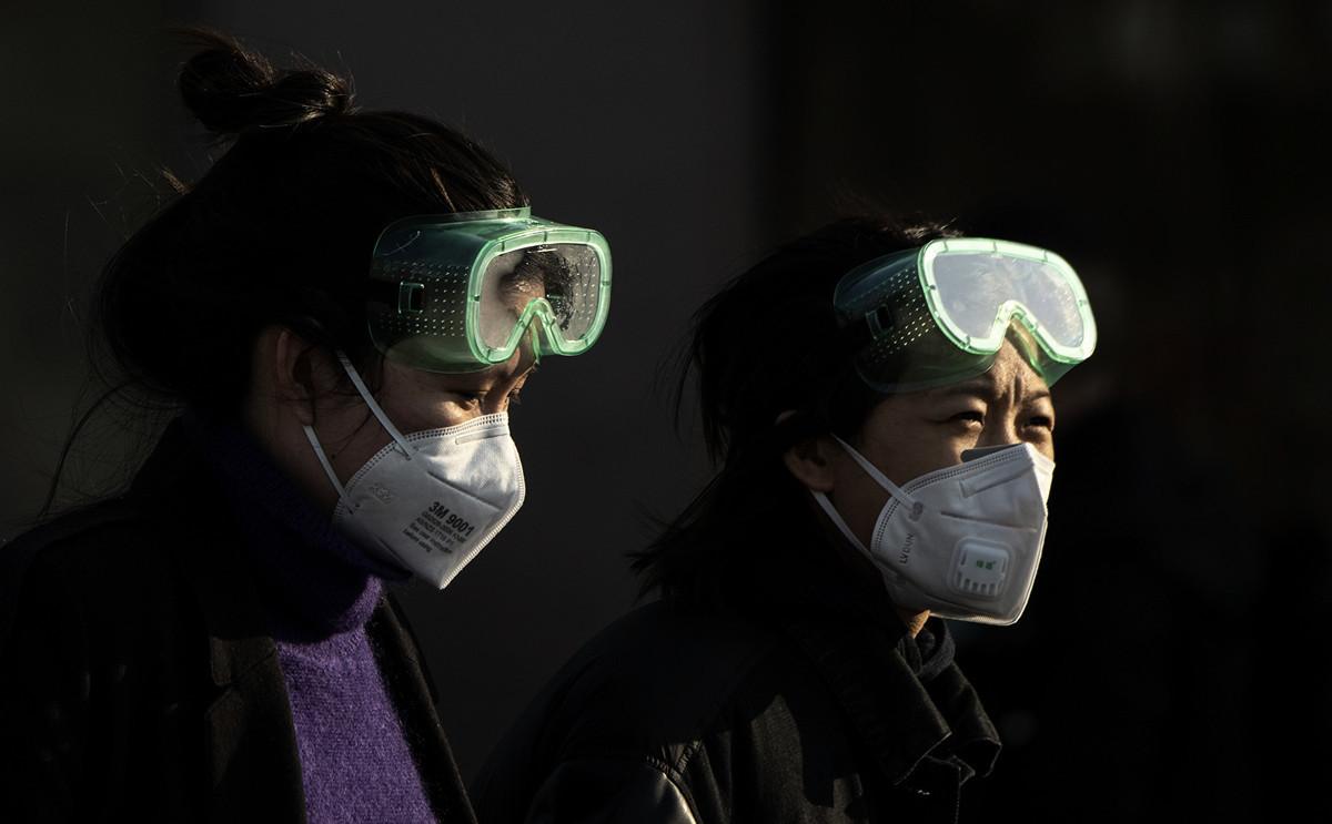 不捨女兒染病,韓女士跑遍武漢所有醫院都不收,見女兒一天一天惡化,令她感到心急如焚。示意圖。(NOEL CELIS/AFP via Getty Images)
