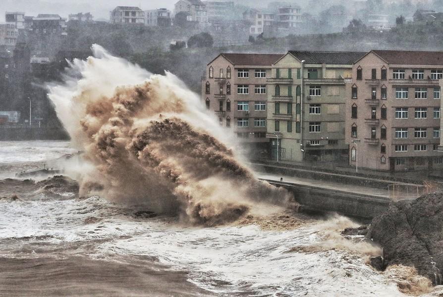 利奇馬颱風重創浙江 致28死417萬人受災