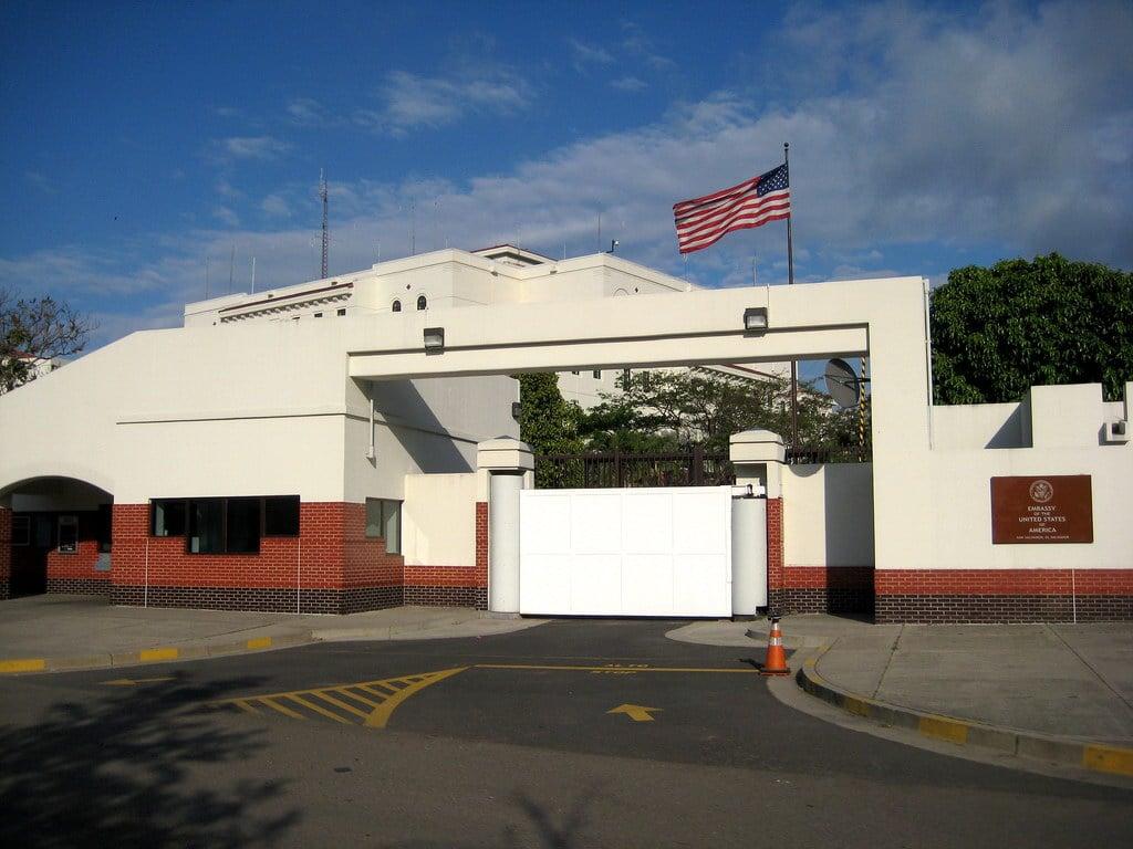 圖為美國駐薩爾瓦多大使館。(維基百科公有領域)
