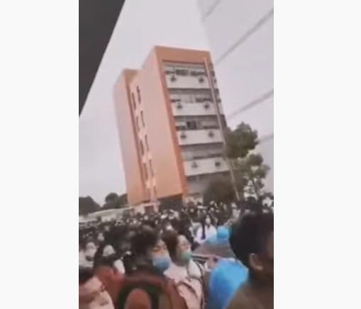 影片:上海一工業園無隔離 被稱「培養病毒」