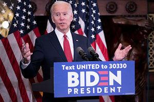 拜登獲美民主黨總統候選人提名資格