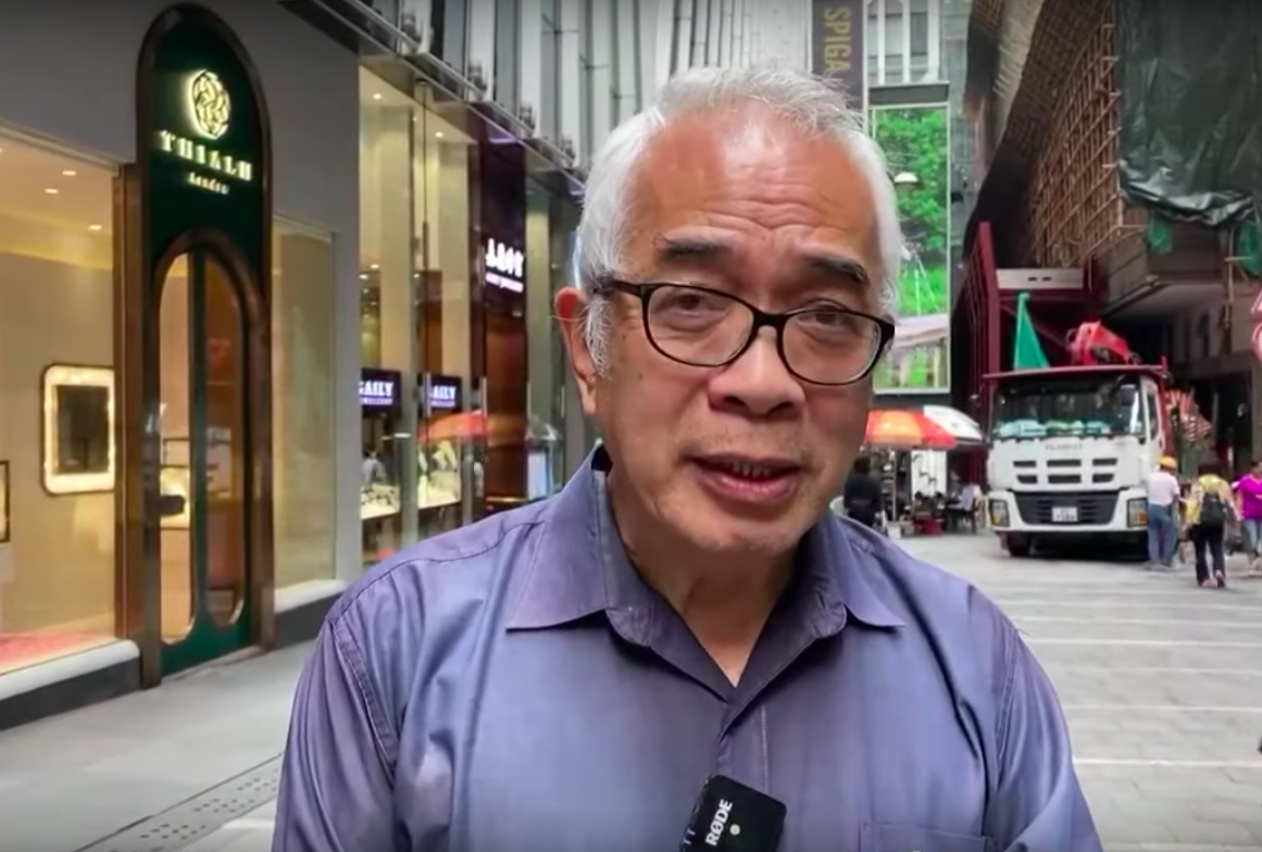 資深時事評論員、香港著名媒體人程翔近日接受採訪談香港局勢。(駱亞/大紀元)