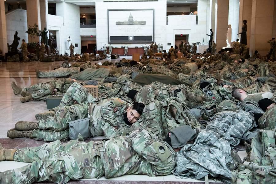國民警衛隊逾150人就職典禮後染疫