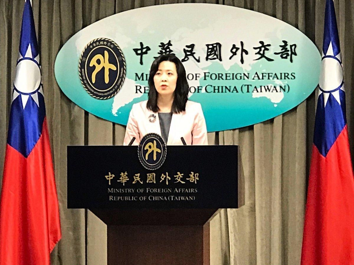 台外交部發言人歐江安。資料圖。(李怡欣/大紀元)