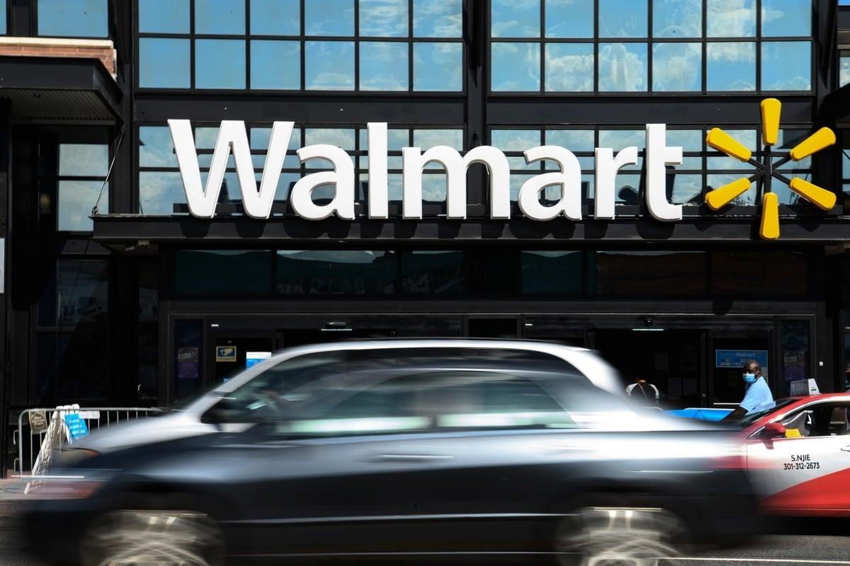 美國零售巨頭沃爾瑪(Walmart)。(NICHOLAS KAMM/AFP via Getty Images)