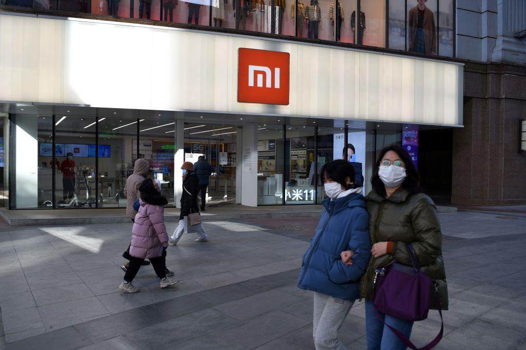 美國國防部同意將中國手機製造商小米集團從黑名單中移除。(GREG BAKER/AFP via Getty Images)