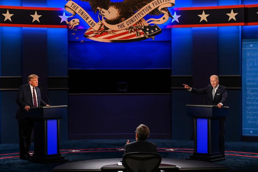 【美大選辯論】特朗普嗆拜登:中國打敗了你