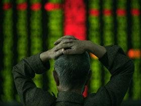 中美關係緊張 A股全面下跌 滬指跌下3200點